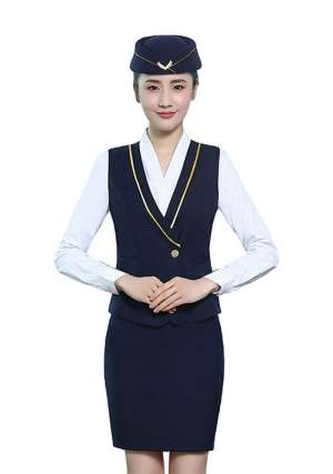航空制服定制衬衫女士