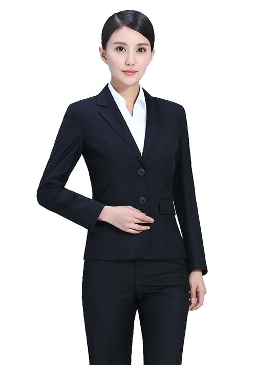 黑色时尚行政制服