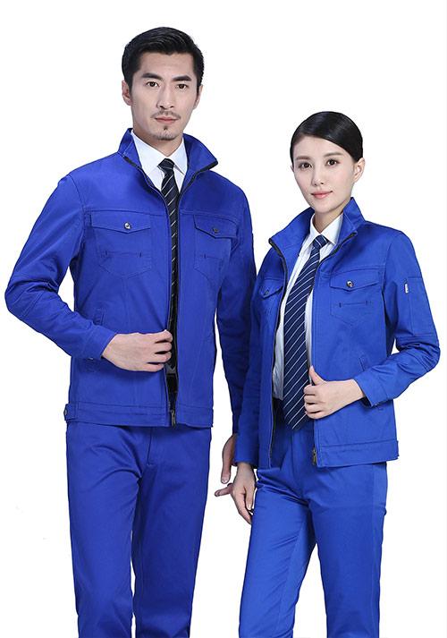 蓝色工作服
