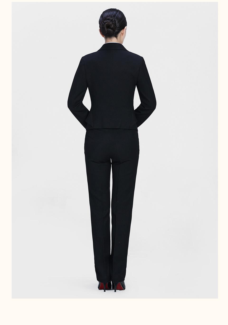 新款黑8女士西裤